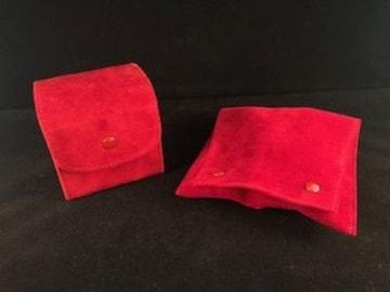 カルティエ Cartier 空ケース×2 赤
