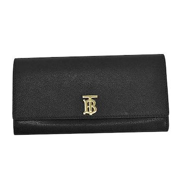 ★バーバリー LS HALTON 2 長財布(BK)『8018938』★新品本物★