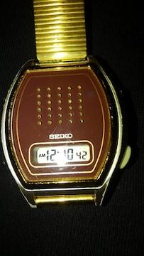 SEIKO デジタルウォッチ 音声機能 ボイスウォッチ
