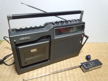 ナショナル ラジカセRQ-448 レトロ RD-9802付