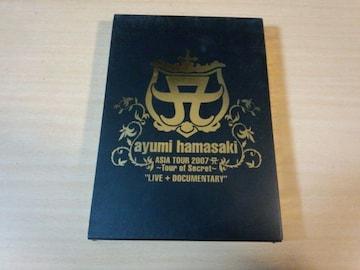 浜崎あゆみDVD「ayumi hamasaki ASIA TOUR 2007」初回盤●