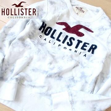 美品 XS ホリスター メンズ スウェット/トレーナー ホワイト