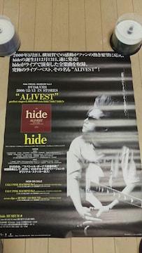 X JAPAN hide ポスター PSYENCE A GO GO