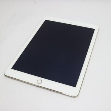 ●美品●au iPad Air 2 Cellular 128GB ゴールド●