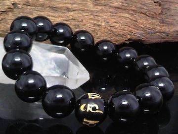 六字真言オニキス12ミリ§オニキス12ミリ数珠