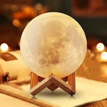 ★送料無料★ 月光のランプ 間接照明 14.5cm USB