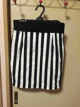新品 ボーダースカート