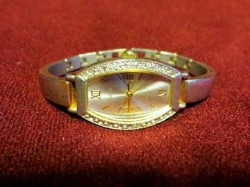 OZOC オゾック ゴールド 腕時計 金 ラインストーン ブランド