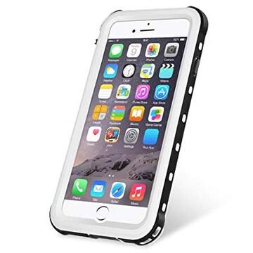 色ホワイト サイズiPhone8 / iPhone7 KYOKA iPhone8 防水ケース