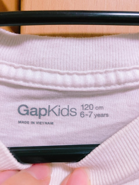 ロンT/GapKids/120 < ブランドの