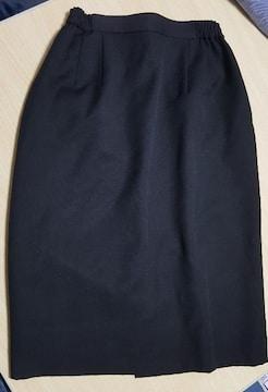 黒のベーシックスカート★膝下丈★9号size