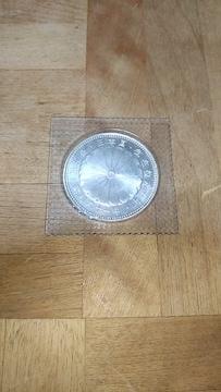 天皇陛下御在位60年1万円銀貨