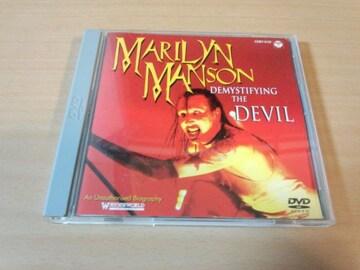 マリリン・マンソンDVD「悪魔降誕DEVIL」Marilyn Manson●