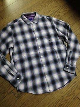 美品BEAMS チェックシャツ 日本製 ビームス