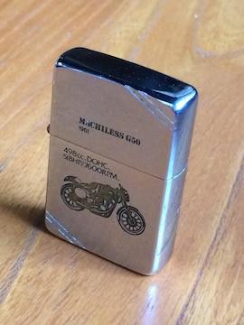 ZippoマチレスG50イングランド最古のモ-ターサイクルメーカーコラボ希少ジッポーUSED良品