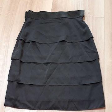 アンタイトル UNTITLED フリルタイトスカート