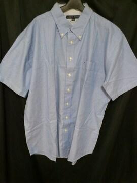 TommyHilfigerトミークラシックワンポイントシャツブルー