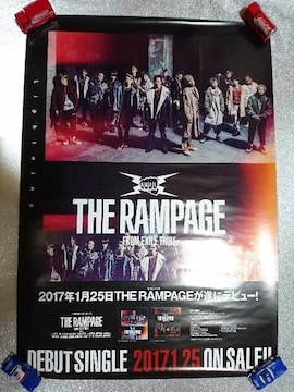 THE RAMPAGE「Lightning」告知ポスター EXILE