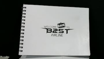 ★WELCOME BACK TO B2ST AIRLINE フォトブック★