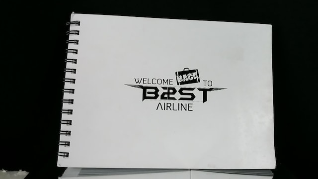 ★WELCOME BACK TO B2ST AIRLINE フォトブック★  < タレントグッズの