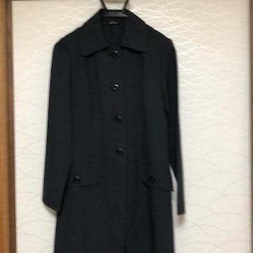 新品 スプリングコート黒 Mサイズ