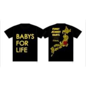 即決 FUNKY MONKEY BABYS FOR LIFE Tシャツ KIDS ブラック 新品