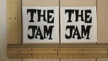 NO.276 アイロンワッペン 2枚セット THE JAM ジャム ROCK