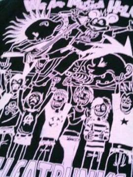 新品◆HELLCATPUNKS◆ノースリーブTシャツ◆BK-PINK◆