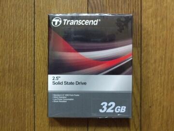 トランセンド製IDE接続SSD 32GB [TS32GSSD25-M] 未開封新品!