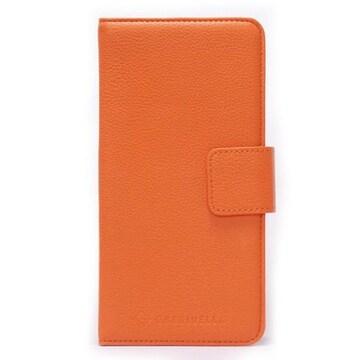 アイコス スマートケース 手帳型 オレンジ