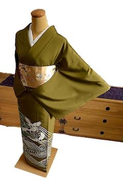 【最高級】新品同様 本加賀友禅【奥田勝将】色留袖 T1586