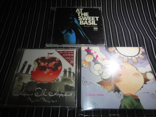 吉井和哉『APPLES』初回盤+『AFTER~』+『SWEET BASIS』美品 3枚  < タレントグッズの