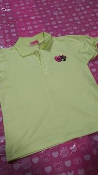 ジェニィ  JENNI  黄色  ポロシャツ  140cm