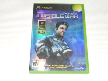 xbox★DEUS EX INVISIBLE WAR 海外版
