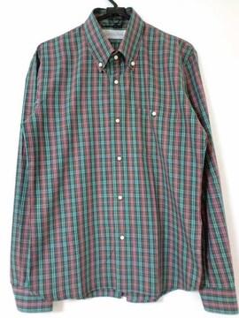 nonnative チェックシャツ ノンネイティブ vendor 藤井 赤 緑 2