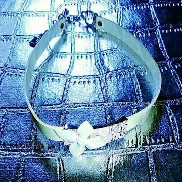 新品 Dior ディオール チョーカー ネックレス りぼん アクセサリ