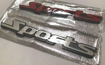 汎用 Sports 3D金属エンブレム スポーツ ドレスアップ
