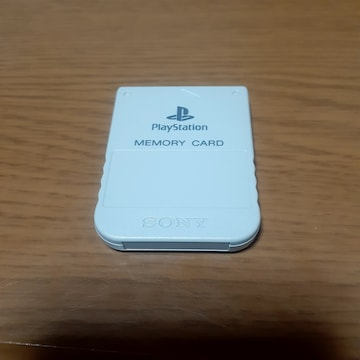 ソニー純正 PS 1 メモリーカード/ グレー