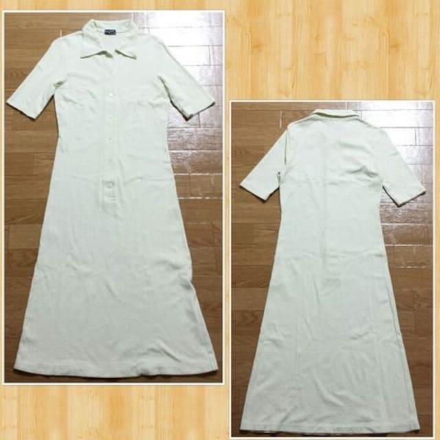 MARGARET HOWELL マーガレットハウエル ロングワンピース ポロシャツ 2 < ブランドの