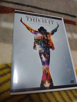 *☆マイケル・ジャクソン☆THIS IS IT コレクターズ エディション DVD♪