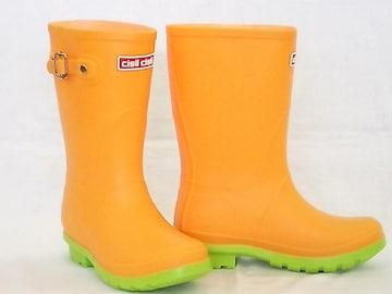 チシルチシル CI-01 オレンジ 23.0cm レインブーツ 長靴 軽量