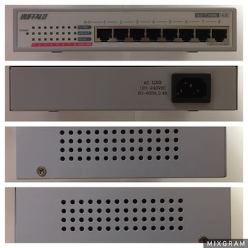 ■BUFFALO LAN用HUB LSW10/100-87NW 10/100BASE