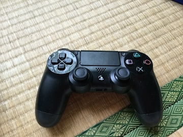 PS4コントローラー黒
