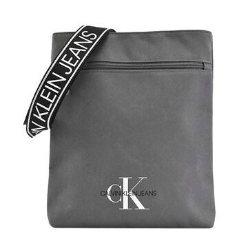 ◆新品本物◆カルバンクラインジーンズ ショルダーバック(L.GY)『K50K505815』◆