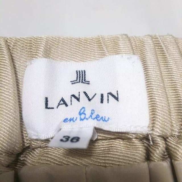 美品 LANVIN ランバン ショートパンツ ハーフパンツ < ブランドの