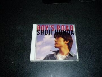 CD「本田修司/ボーイズロード(BOY'S ROAD)」95年盤