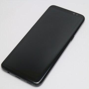 ●安心保証●美品●au SCV36 Galaxy S8 ブラック●白ロム
