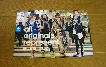 2NE1 adidas/SHOP LIST ショップリスト 表紙/カード/ポスター
