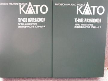 KATO「10-1403 西武鉄道40000系10両セット」(60)
