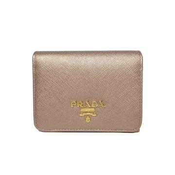 PRADA 1MH176-QWA-F0CG0 3つ折り財布  レディース